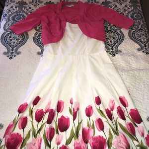 Floral Dress! Perfect for Formal Occasions.